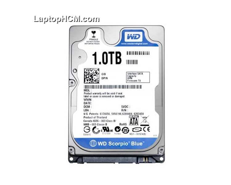 ổ cứng Laptop 1tb cũ